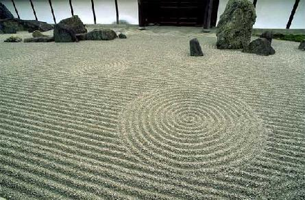 Обустройство японского сада камней