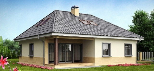 Вальмовая четырёхскатная крыша