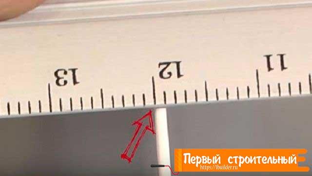 Толщина ребра от 1 мм.